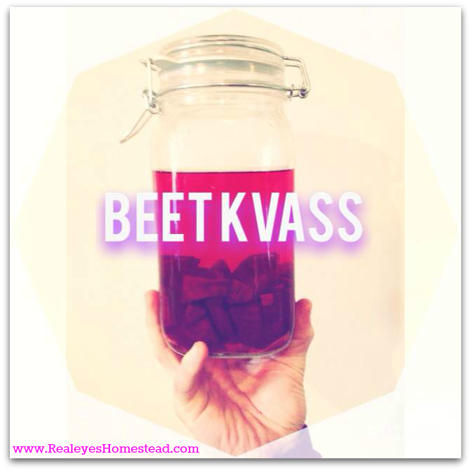 how to make kvass drink