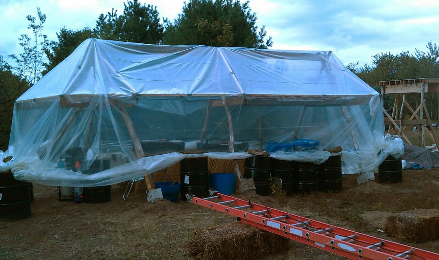 Our Passive Solar Greenhouse Folly