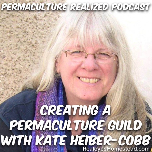 Permaculture Realized Podcast Episode 20, Creating a Permaculture Guild with Kate Heiber-Cobb