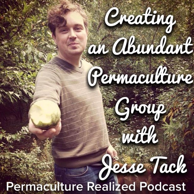Creating an Abundant Permaculture Group - Jesse Tack Podcast