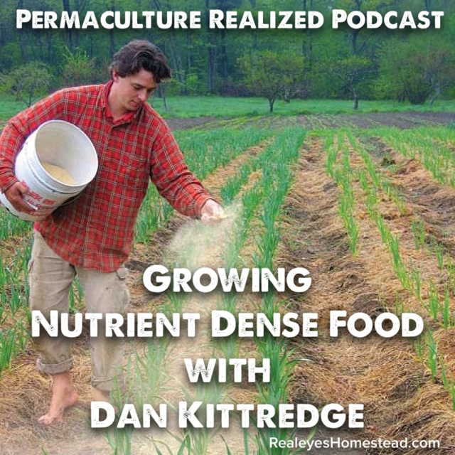 Permaculture Realized Podcast Episode 24, Growing Nutrient Dense Food with Dan Kittredge