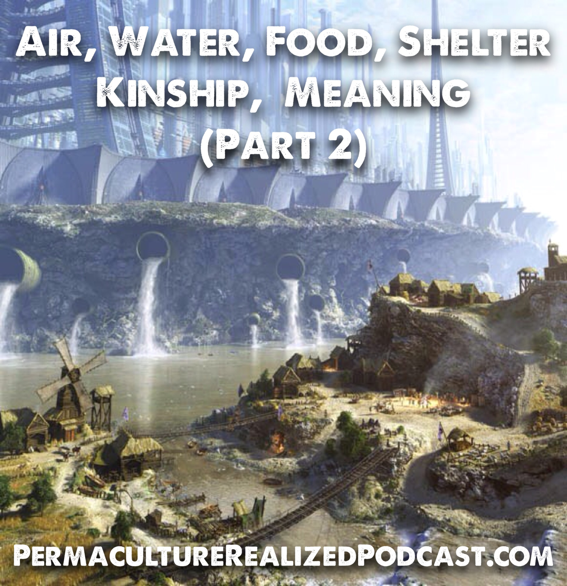 Permaculture Realized Podcast Episode 30, Air, Water, Food, Shelter, Kinship, Meaning (Part 2)