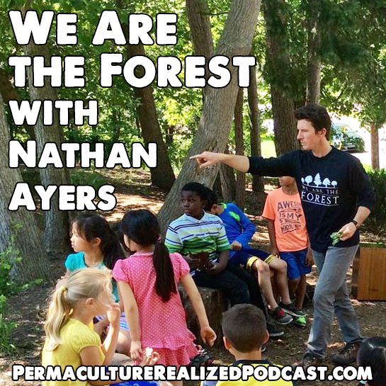 Permaculture Realized Podcast Episode 35, We Are the Forest with Nathan Ayers